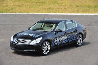 Nissan EV Hybrid Car