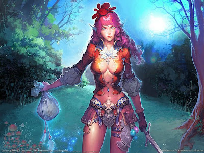 Korelia Spot  CG fantasy artwork