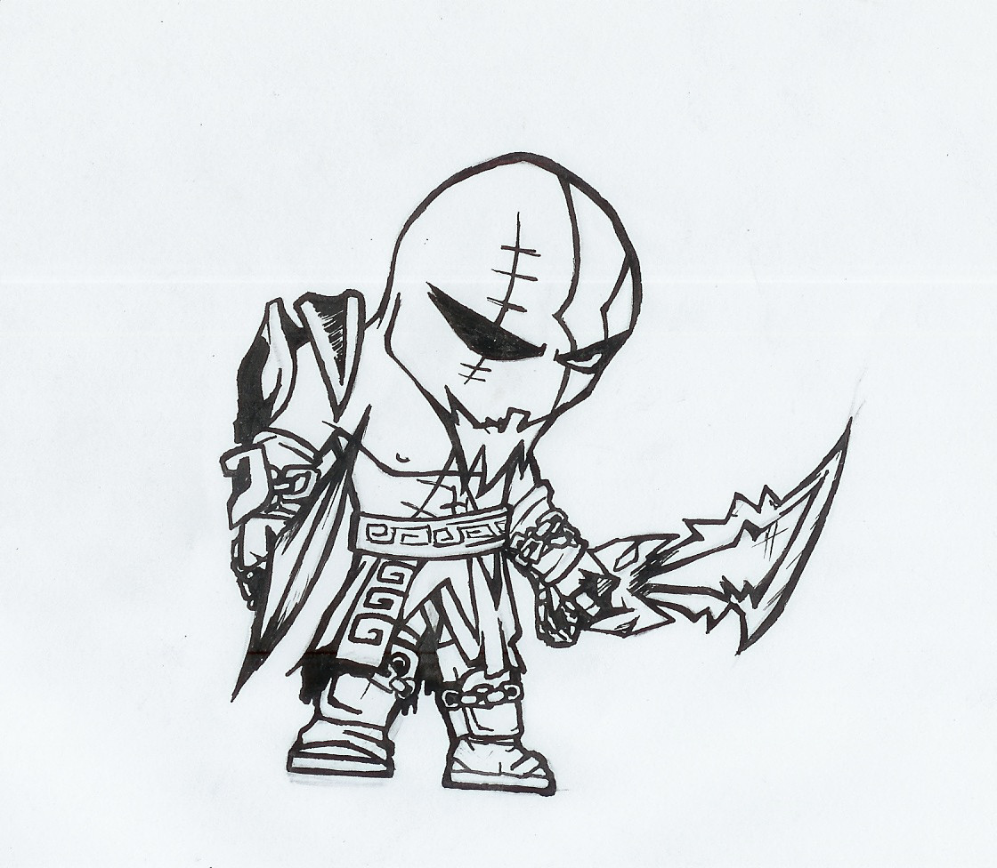 god of war coloring pages - photo#20