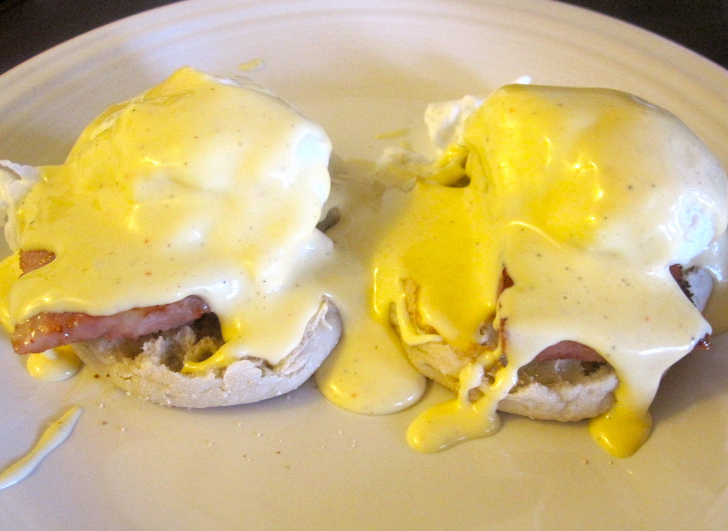 The Cultural Dish: Eggs Benedict with Mimosa's