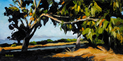 carpinteria bluffs painting