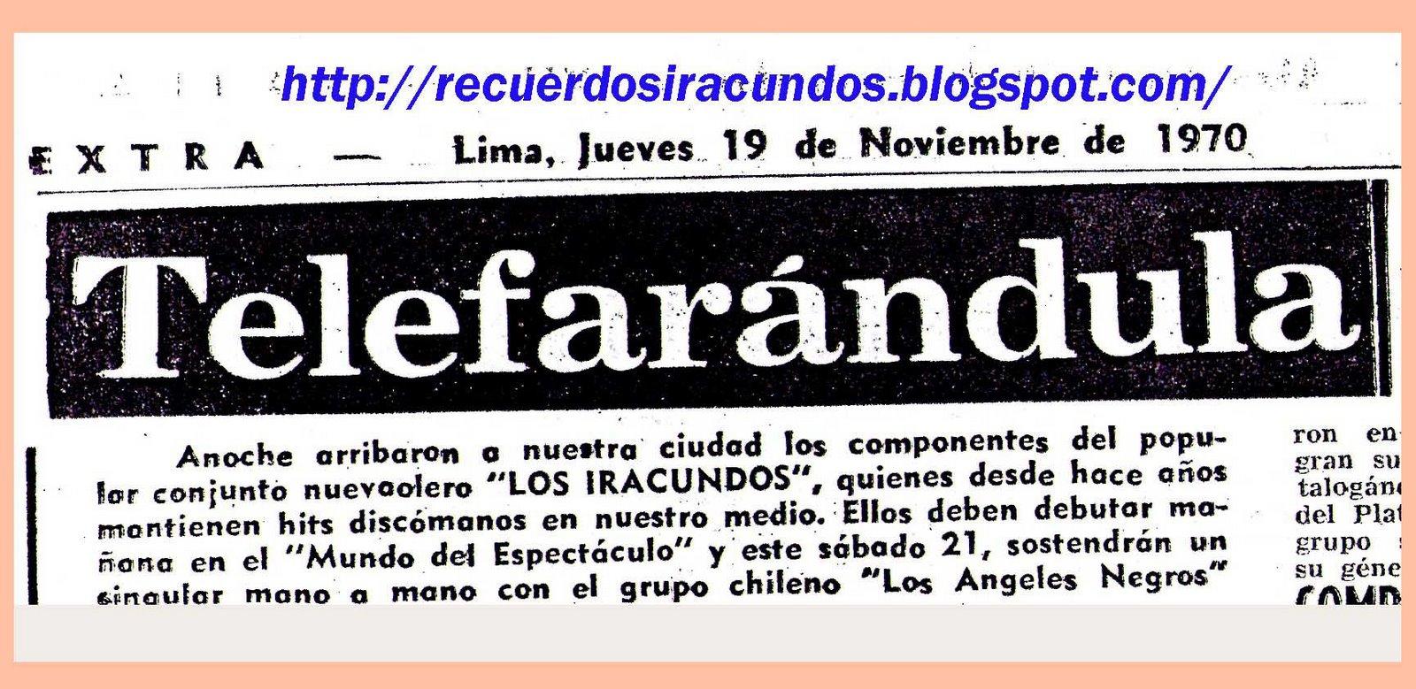 RECUERDOS 1971