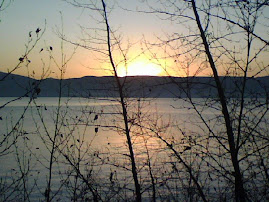 Sunrise over Flathead Lake Nov. 1, 2008