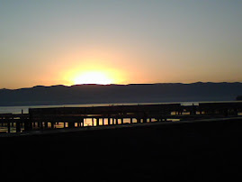 Flathead Lake sunrise Nov. 1, 2008