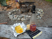 Melted cheese, crackers, wine and a good book...