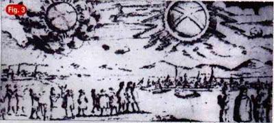 UFO's form past,