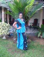 Sunalie Ratnayake with Saree