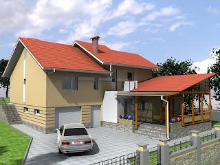 3d portfolio - Tudor Bolboceanu: Proiecte de case