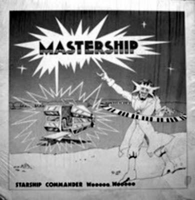 MASTERSHIP 1981 - starship commander