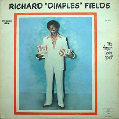 Cover Album of RICHARD  DIMPLES  FIELDS  - It's  Finger  Licking Good / 1978