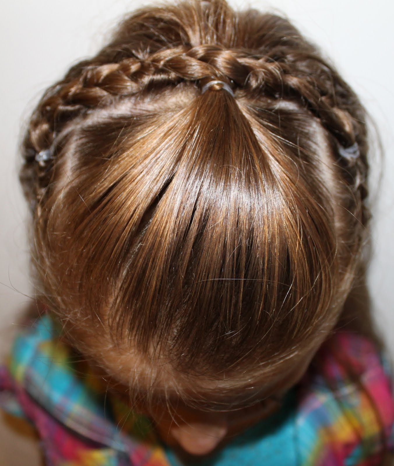 french headband braid with front bangs