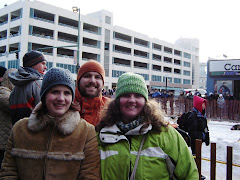 Eric, Danielle and I at the Iditarod