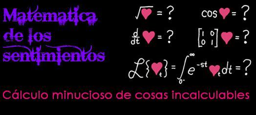 Matemática de los sentimientos