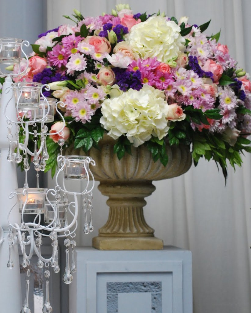 Wedding by zayraa wedding by zayraa promosi fresh for Decoration flowers
