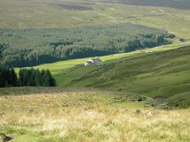View towards Killhope Lead Mine