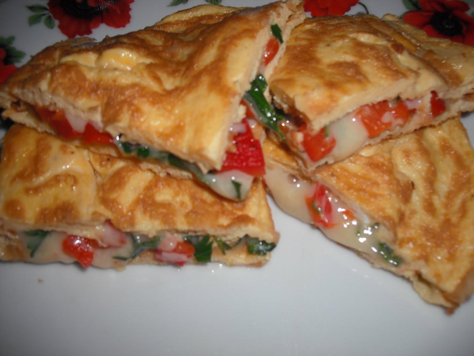 Renkli omlet tarifi
