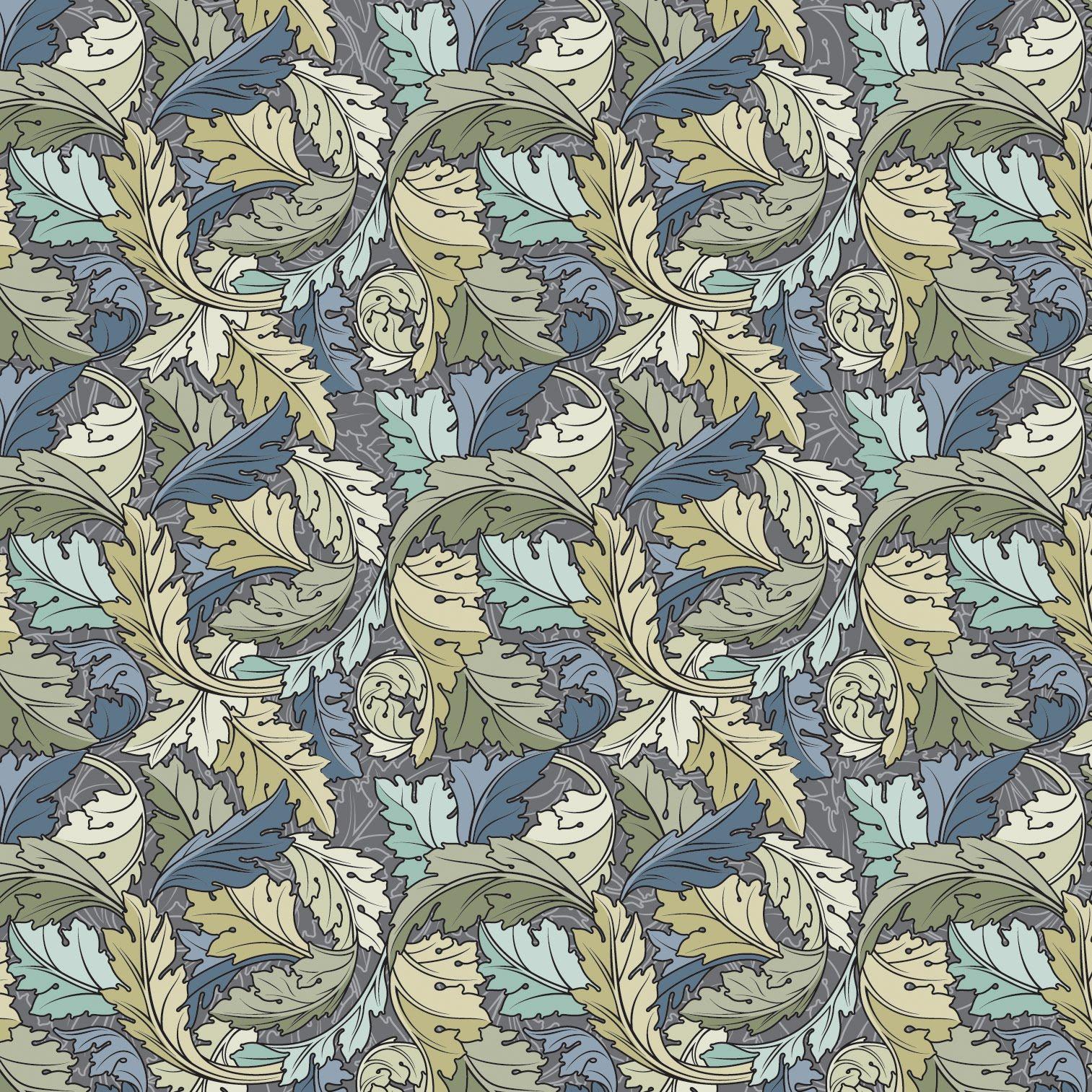 new tacoma design  exercise  william morris pattern