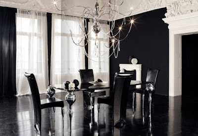 Modern Gothic Concept Dining Room