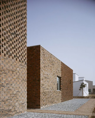 Gorgeous Modern Brick Home by Atelier Zhanglei