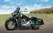 MOTORCYCLE: Harley Davidson Road King