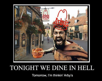 Hell, then Arbys