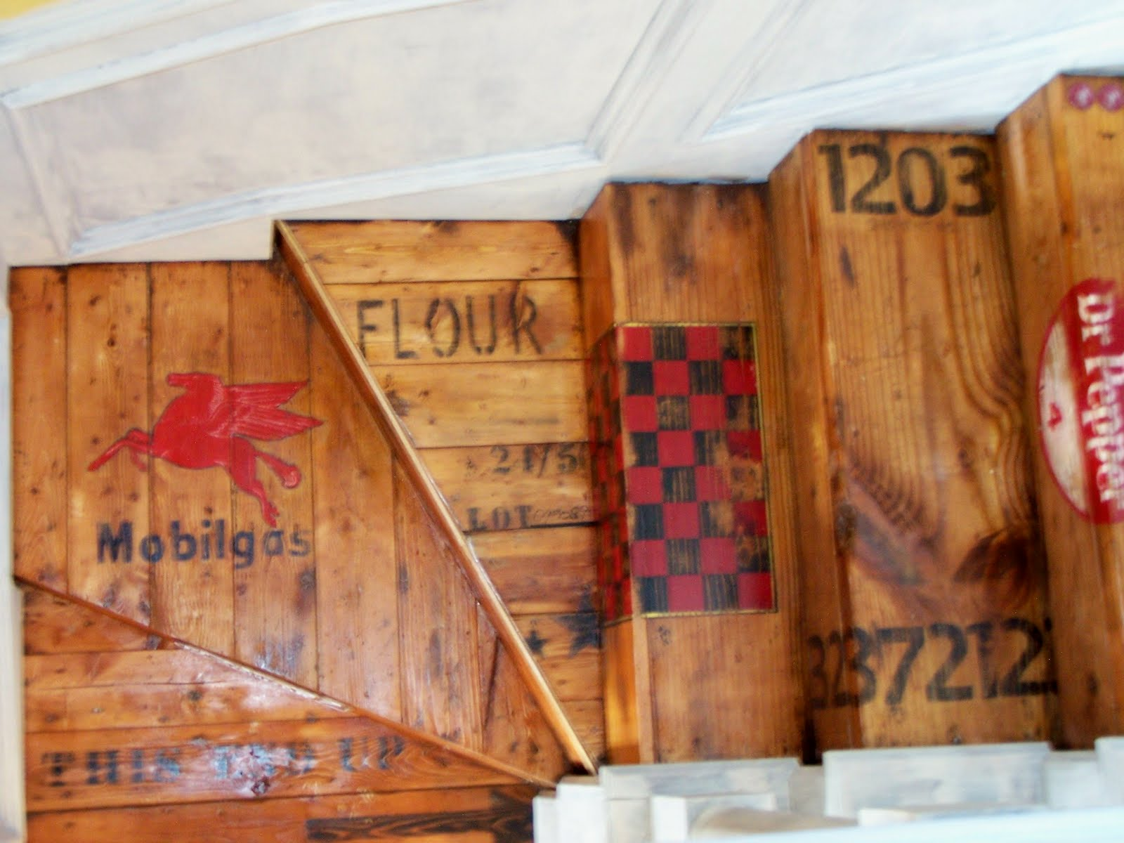 Vintage Crate Stairs from Compulsive in Texas