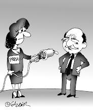 O caricatură de la un amic