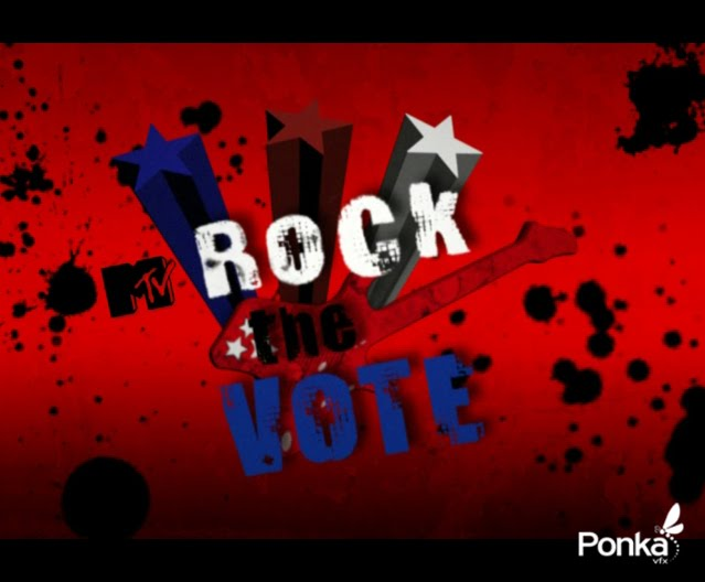 ROCK THE VOTE (ANIMATION)