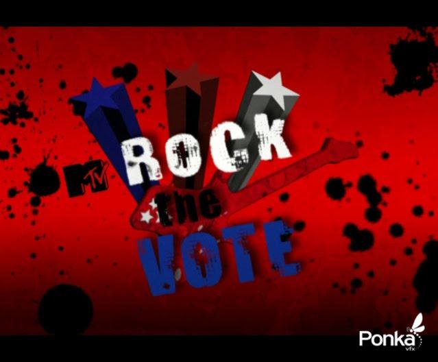 ROCK THE VOTE (ANIMATION)