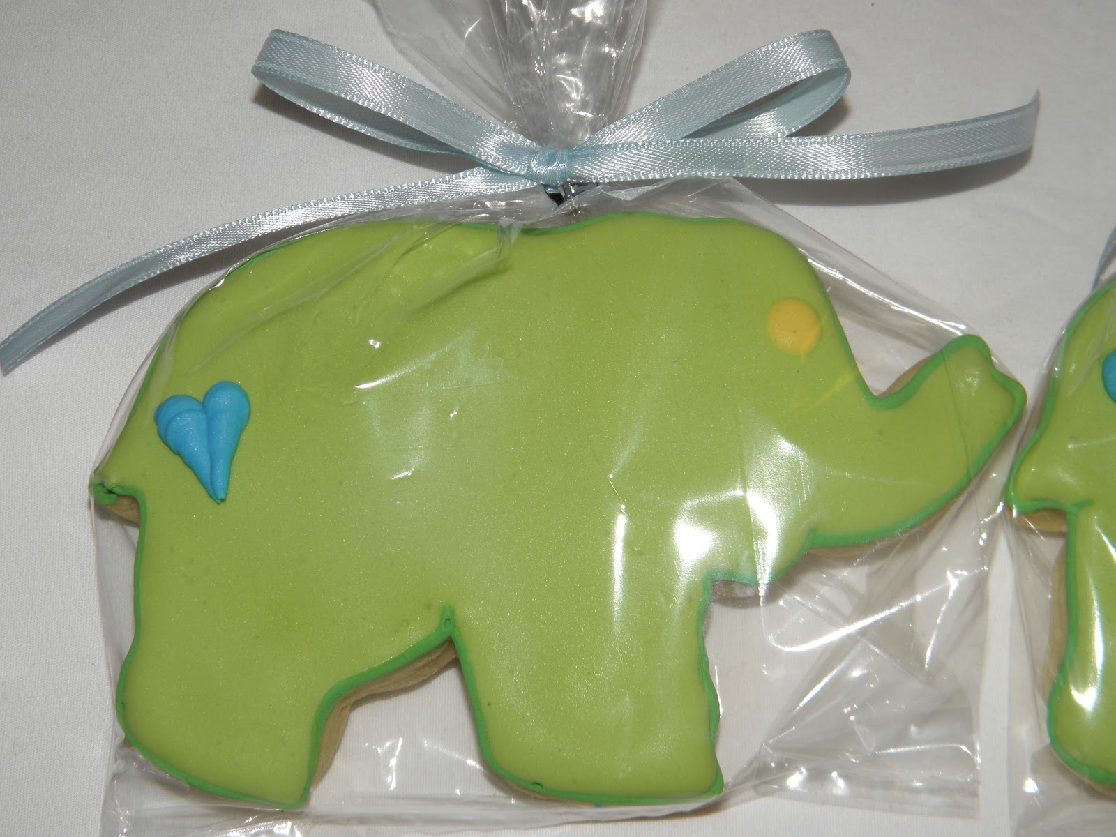 cookie dreams cookie co elephant baby shower favors