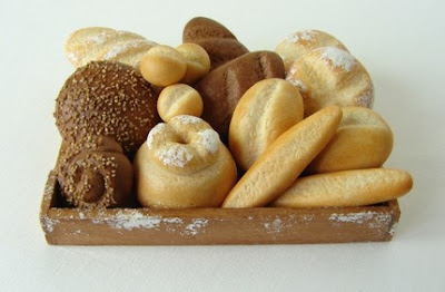 polymer clay miniature food