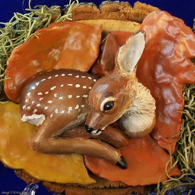 polymer clay animal sculpture
