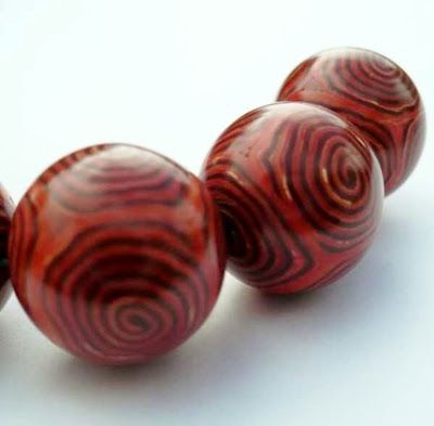 polymer clay, beads
