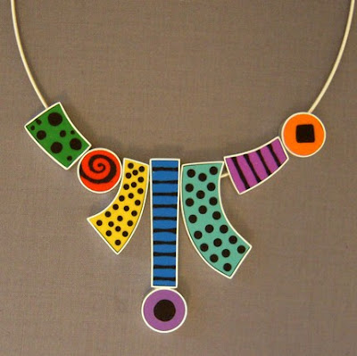 polymer clay and sterling silver jewelry