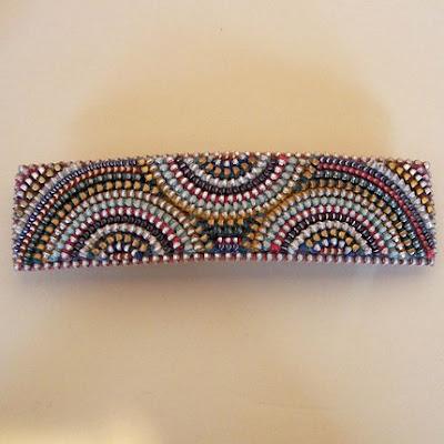 polymer clay zipper jewelry
