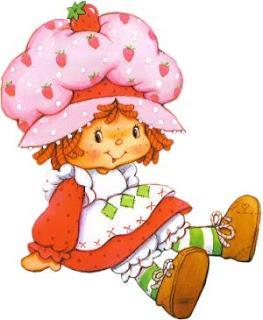 moranguinho 12 700562 Imagens da Moranguinho Clássica para decoupage para crianças