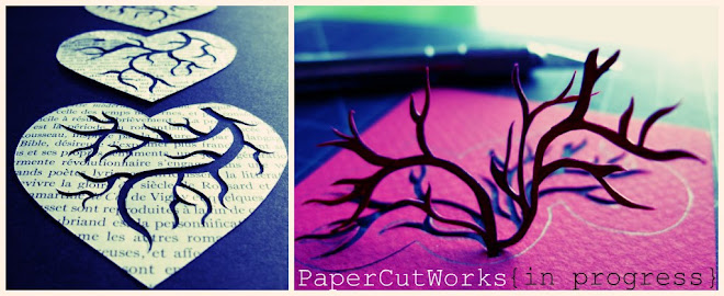 PaperCutWorks {In Progress} Original Hand Cut Paper Art for You & Yours