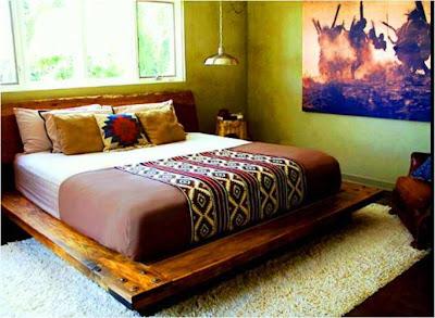 An indian summer kishani perera for Old diwan bed