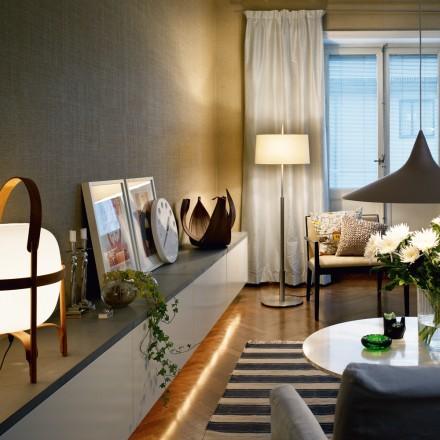 Tidlös design - bli inspirerad: Snygg förvaring i vardagsrum