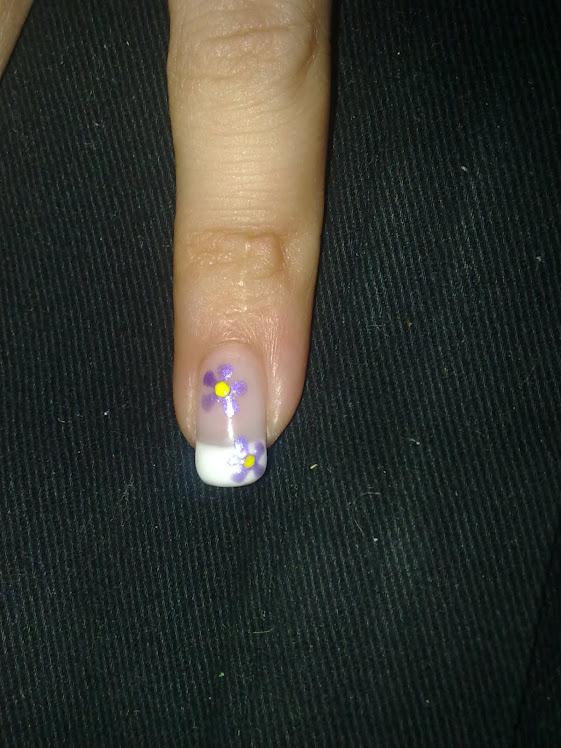 Florecitas lilas
