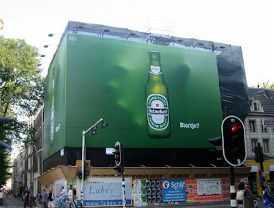 Creative advertising -  Heineken