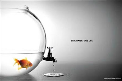 Creative advertising - Save water save life