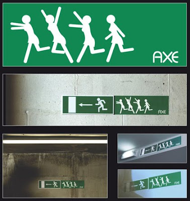Creative advertising - Axe