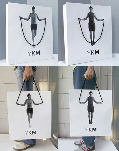 Creative advertising - gym bag