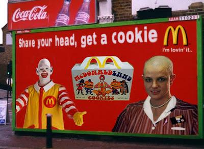Mcdonald's funny advertisement - Britney