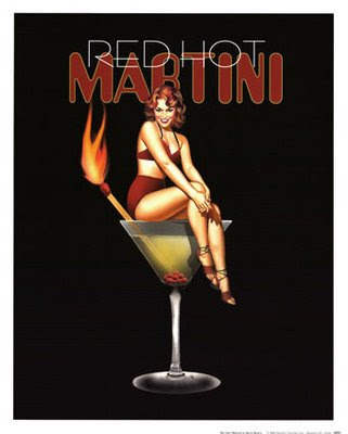 Red hot martini ad