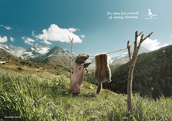 Funny ads: Spring cleaning