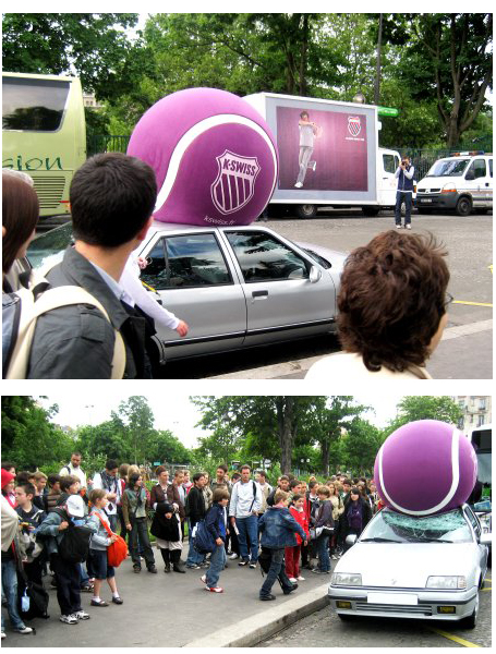 K-Swiss tennis ball