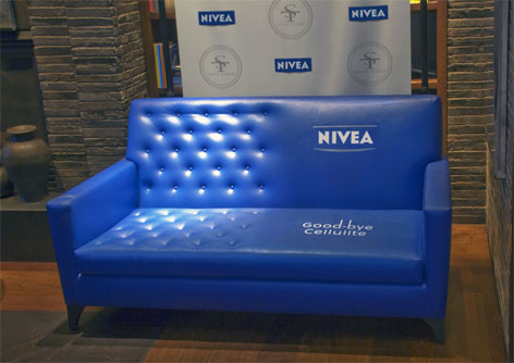 Nivea Goodbye cellulite sofa