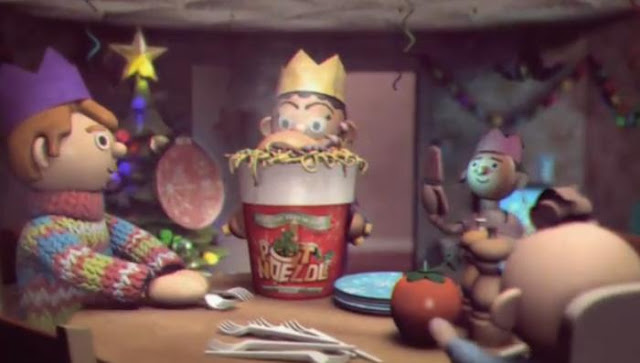 A Pot Noeldle Christmas TV commercial